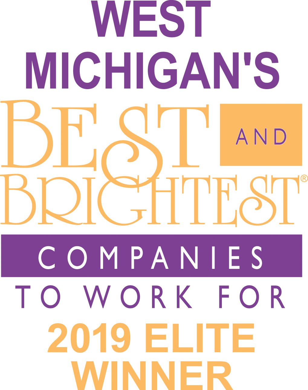 West Michigan's Best and Brightest Companies to Work For 2019 Elite Winner
